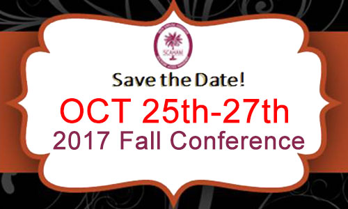 Save the Date for 2017 Fall Conference